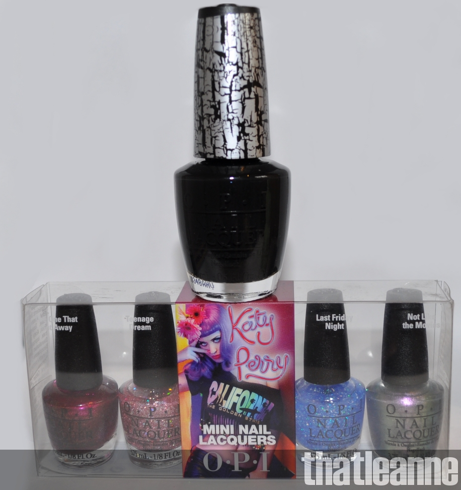 thatleanne: Katy Perry OPI Black Shatter - swatches and other ...