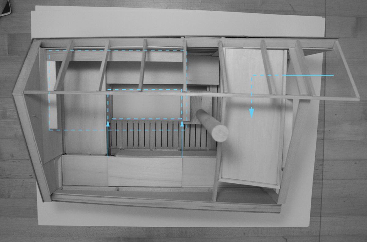 Drift Ice Fishing Hut Design