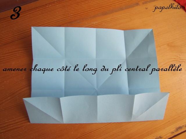 Papelhilo blog tuto toile de no l en origami - Tuto etoile origami ...