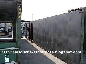 Patrick partouche container house lille for Container isolation