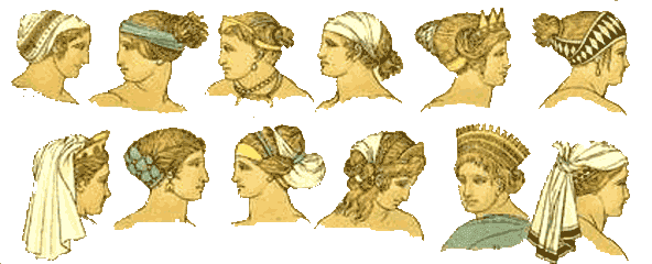 greek women hairstyles. ancient greek hairstyles for
