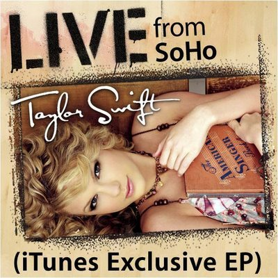 blog because it's just live versions of songs from Taylor Swift.