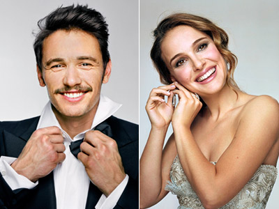 James Franco & Natalie Portman on Entertainment Weekly