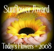 Blog Award - Today's Flowers 2008