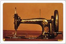 Um pouco da história da máquina de costura.