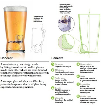 DesignBridge: Twin-Wall Pint Glass Design