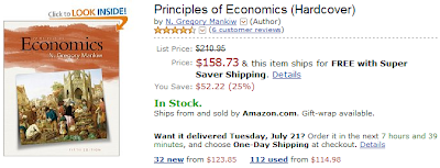 Mankiw: Principles of Economics, 5th Edition, Amazon
