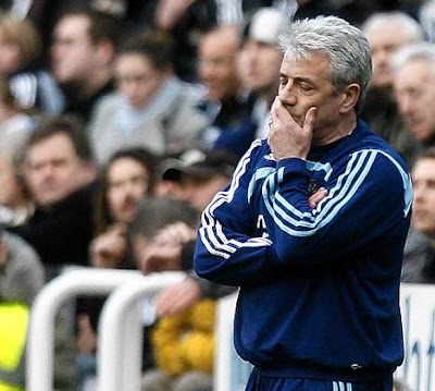 Kevin Keegan, former manager of Newcastle United, former team in the English Premier League