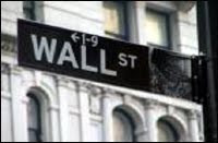 Wall Street sign (Source: FBI)