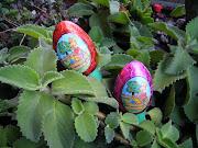 ¡El Conejo de Pascua vino a casa!, y ahora si que tenía como cinco años de . huevos de pascua