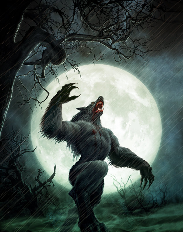 sacred and myth animal werewolf
