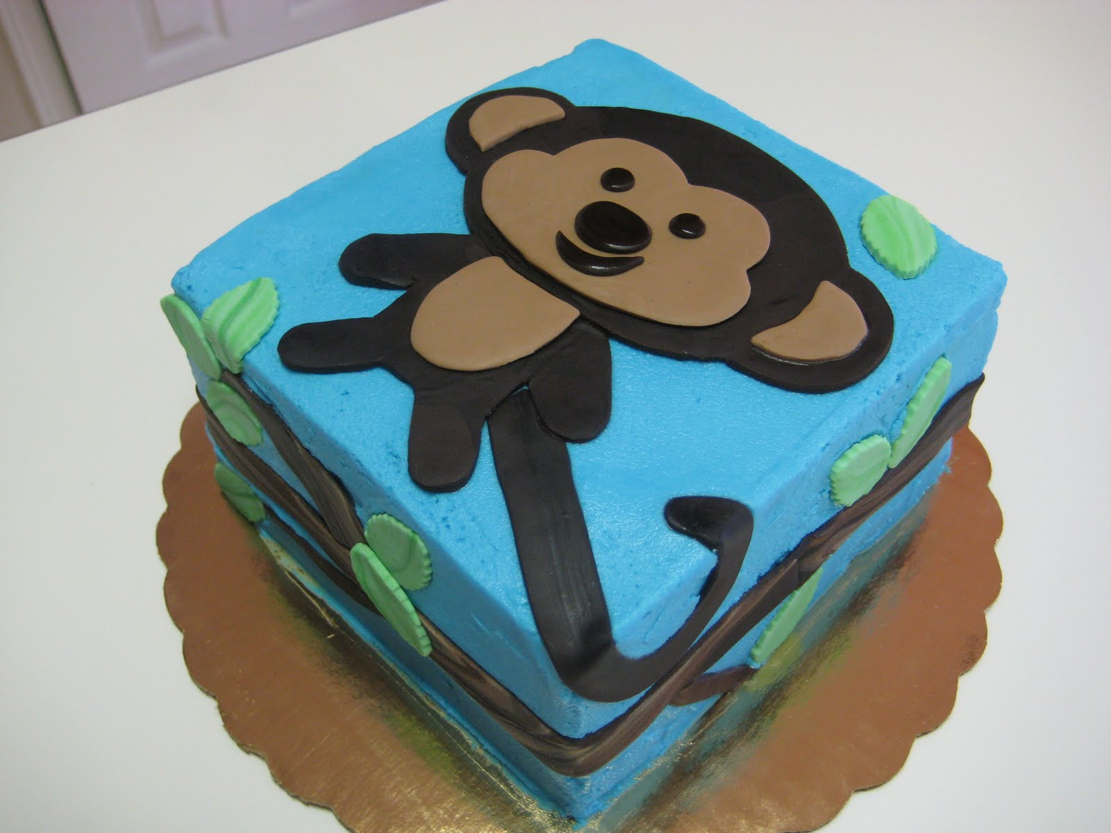 Imaginative dispostion creative pleasures january 2011 - Monkey baby shower cakes for boys ...