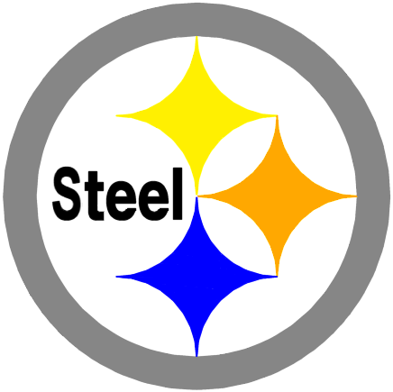 Packers Steelers Logo. The Steelers' logo is taken