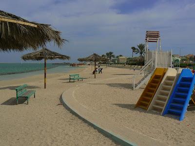The beach at Al Khor
