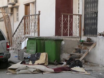 Doha street scene.