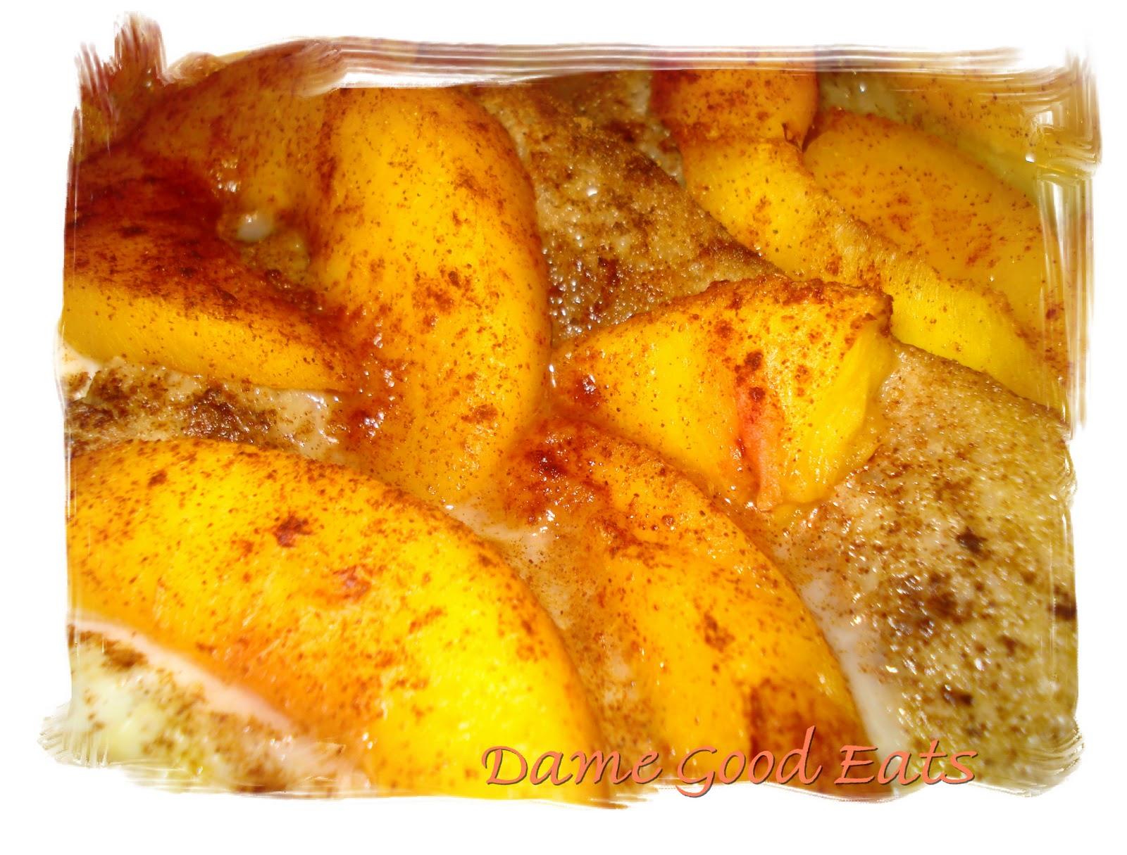 Dame Good Eats: Holiday Breakfast: Peach French Toast Bake