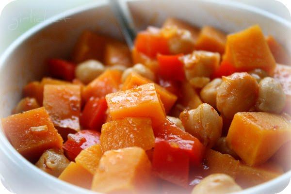 Chickpea & Sweet Potato Soup <i>(Ethiopian-inspired)</i>