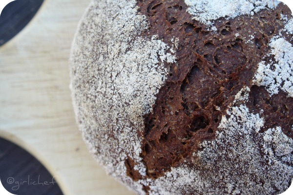 Bavarian-style Whole Grain Pumpernickel Bread <i>...for World Bread Day 2010</i>