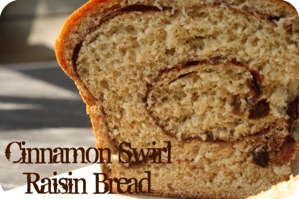 girlichef: Cinnamon Swirl Raisin Bread