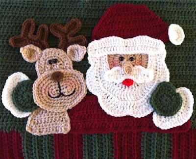 Santa Pillow Crochet Along Finished Pattern