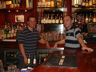 Kevin and Kevin at the Canny Man in Wan Chai, Hong Kong
