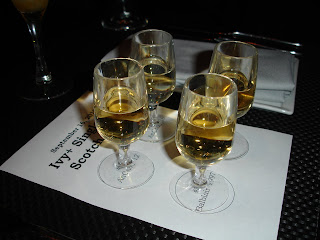 AnCnoc 12, AnCnoc 16, Old Pulteney 17, and Balblair 1997 - yummy