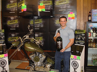 Kevin with Ardbeg chopper