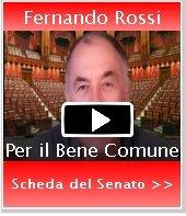 Fernando Rossi in Senato