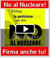 Firma la petizione per dire NO al NUCLEARE.