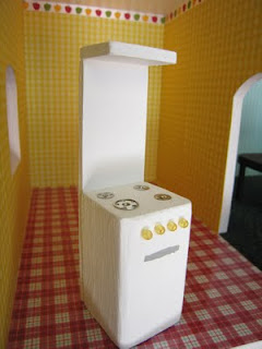 Dollhouse Decorating Make Your Own Doll House Stove Oven