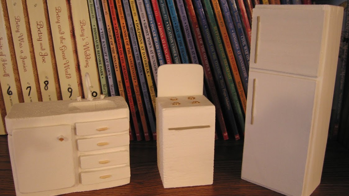 Dollhouse Decorating Use Dowels To Finish Your Wooden Dolls House Kitchen  Sink Unit DIY Dollhouse Kitchen