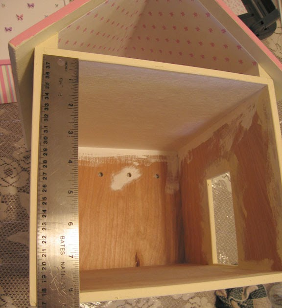 Dollhouse Bathroom Wallpaper: Dollhouse Decorating!: How To Put Wallpaper In Your Dollhouse