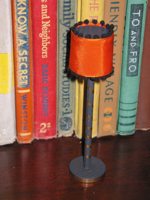 Dollhouse Decorating!: How to make your own doll house floor lamp
