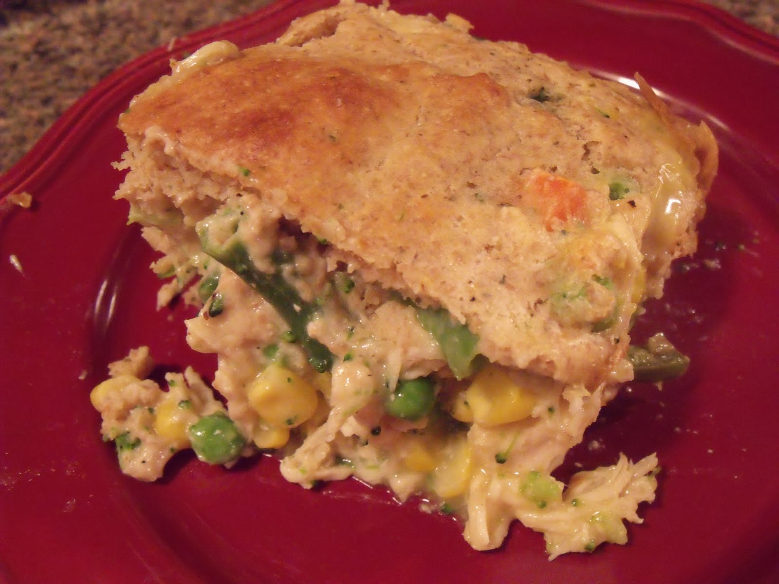 My Homemade Happiness: Recipe: Quick and Easy Chicken Pot Pie
