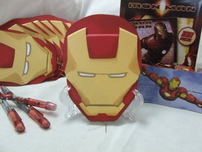 Iron Man – Invites
