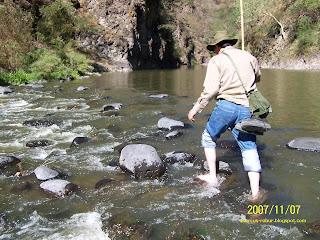 Cruzando el Río Verde