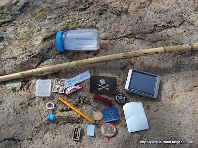 Contenido del geocache