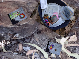 Geocache en el parque El Centinela