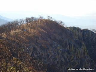 Casa de campaña en el cerro