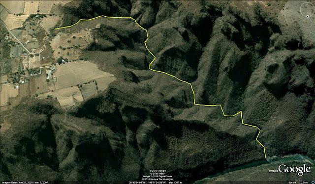 Cañón el Aguacate - Arroyo El Algodonal
