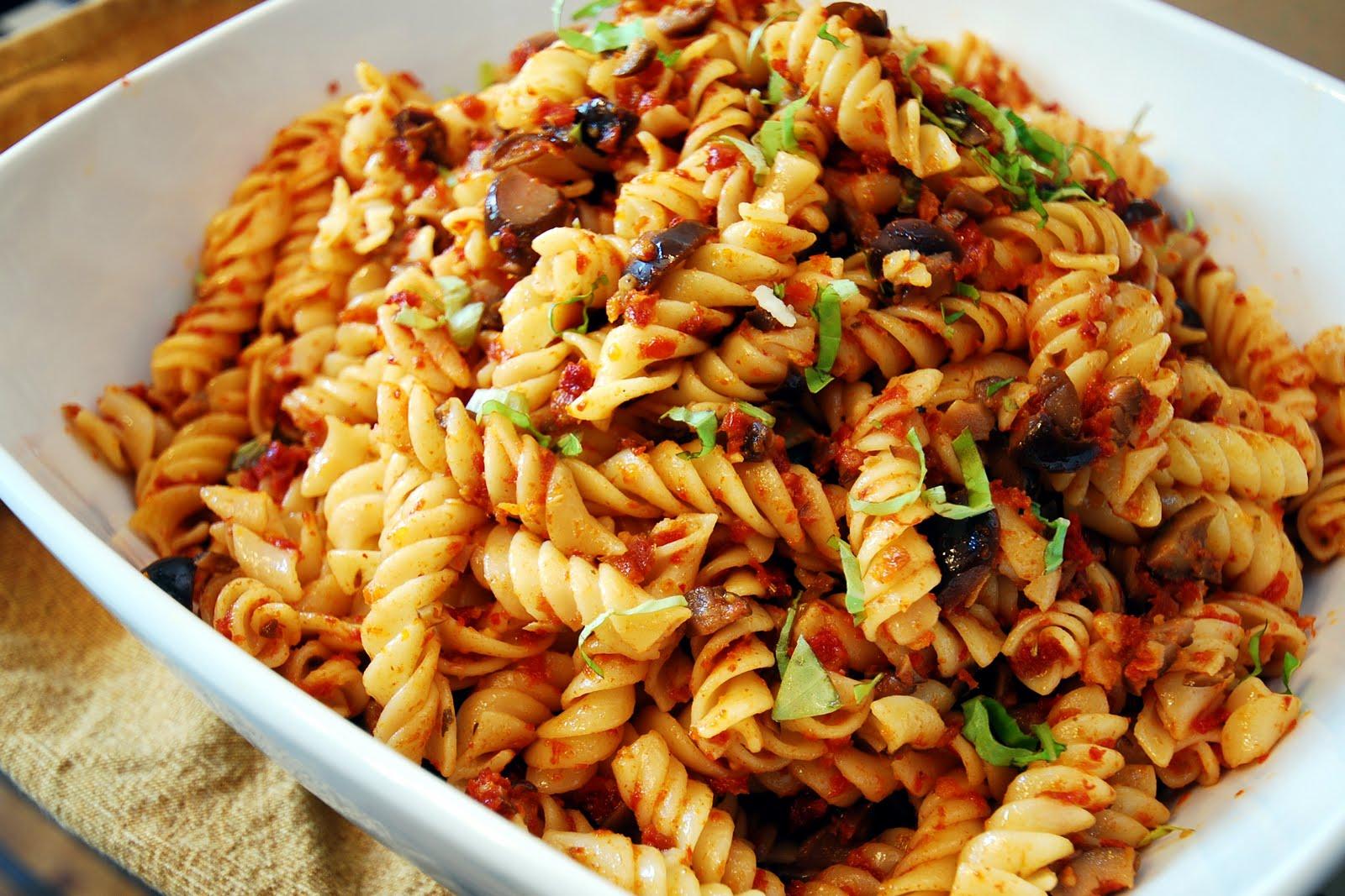 Recipe for tomato pasta salad