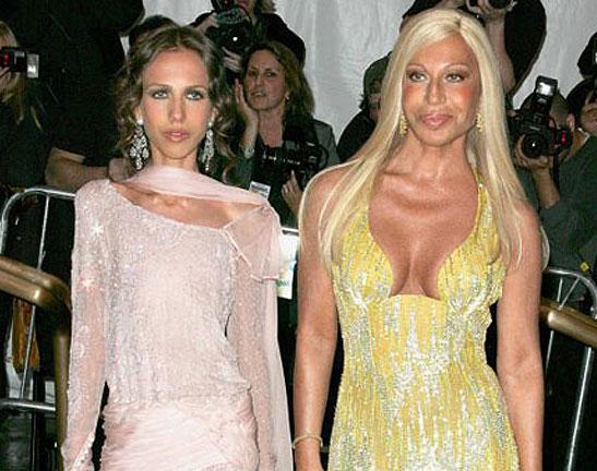 Donatella Versace As Child