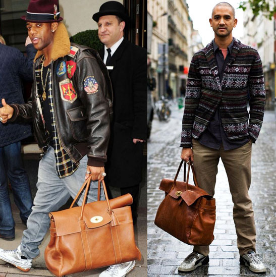 Fashionistas Daily .Com: The Perfect Man Bags For A Male Fashionista !