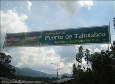 ingreso al puerto de tahuishco (moyobamba, peru)