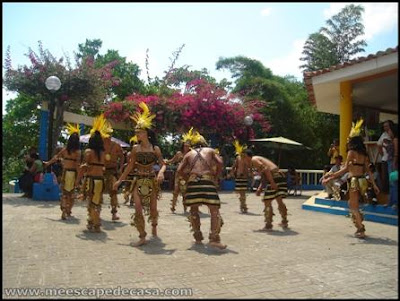 grupo de danza regional en tahuishco (moyobamba, peru)