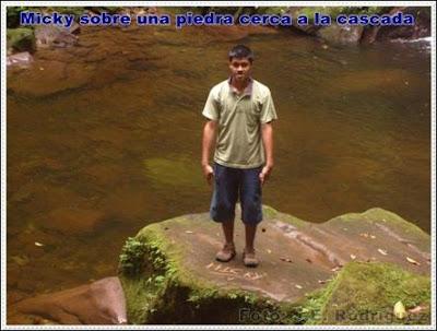 cerca a la cascada del rio shilcayo
