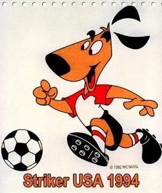 striker de USA, mascota de mundial