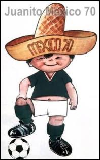 juanito de mexico, mascota de mundial