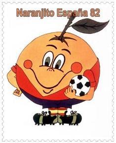 naranjito de españa, mascota de mundial