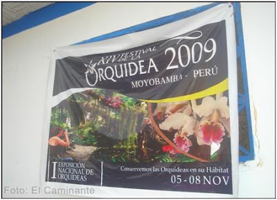 gigantografia del xiv festival de la orquidea 2009, moyobamba